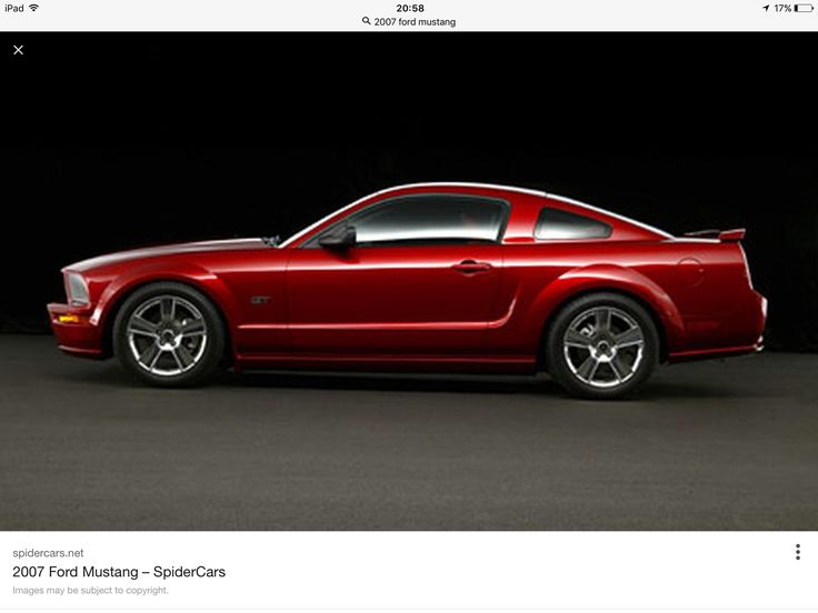 My awesome 2007 Mustang