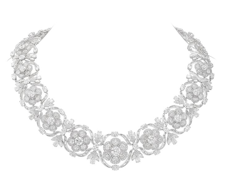 Nirav Modi Mughal Necklace, set with exceptional diamonds totally an incredible 88.49 carats