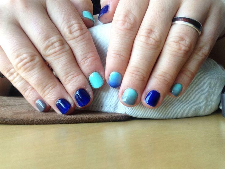 Hybryda Semilac | Mint, Blue Ink, Wet Marengo