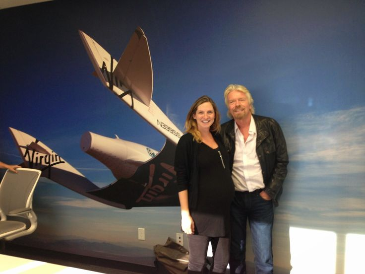 G+ Would you go to work if you were due to give birth? Here's why Julia at +Virgin Galactic did virg.in/bsl