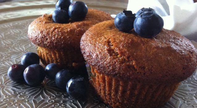 Glutenvrije en Suikervrije Muffins van amandelmeel - Ze zijn heerlijk!!
