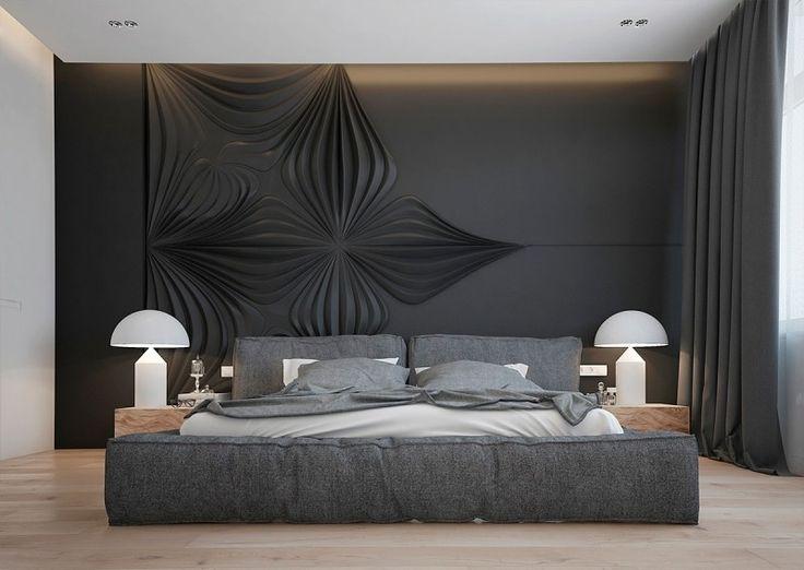 Les 25 meilleures id es de la cat gorie chambres coucher for Tapisserie murale de luxe