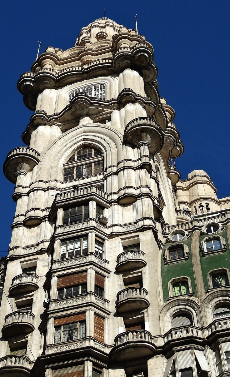 Buenos Aires--I love the European architecture