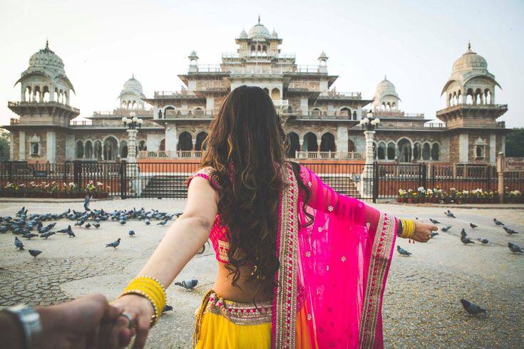 Follow me, my love! Photo by Priyal Sokhiya Photography, Jaipur #weddingnet #wedding #india #indian #indianwedding #weddingdresses ##photoshoot #photoset #photographer #photography #inspiration #planner #organisation #details #sweet #cute #gorgeous #fabulous #couple