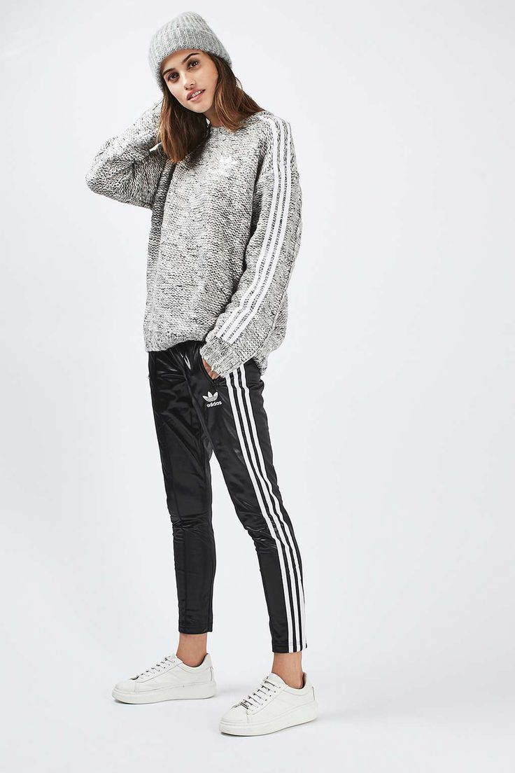 Chunky Knit Jumper by Adidas Originals - Knitwear - Clothing - Topshop
