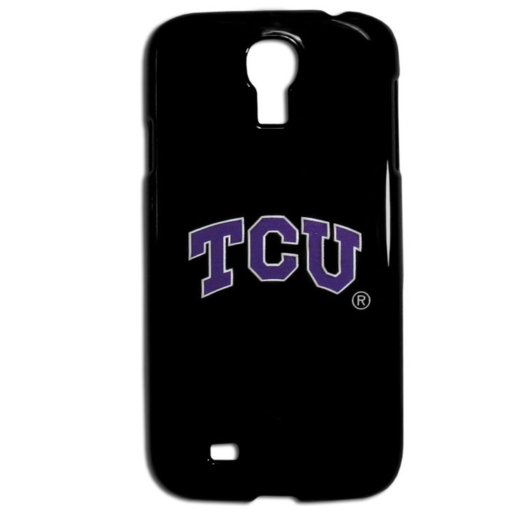 """Checkout our #LicensedGear products FREE SHIPPING + 10% OFF Coupon Code """"Official"""" TCU Horned Frogs Samsung Galaxy S4 Case - Officially licensed College product Fits Samsung Galaxy S4 Snap on protective case Crisp, digital graphics TCU Horned Frogs logo - Price: $16.00. Buy now at https://officiallylicensedgear.com/tcu-horned-frogs-samsung-galaxy-s4-case-cs4bk112"""