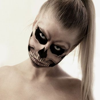 Maquillaje para Halloween 2013: De mujer muerta