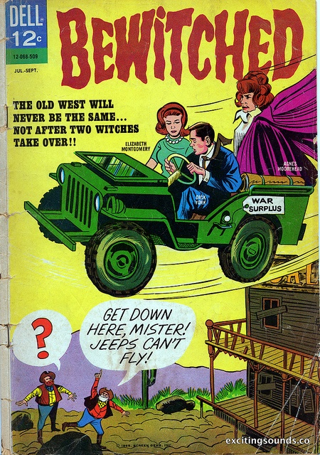 Bewitched comic, 1965