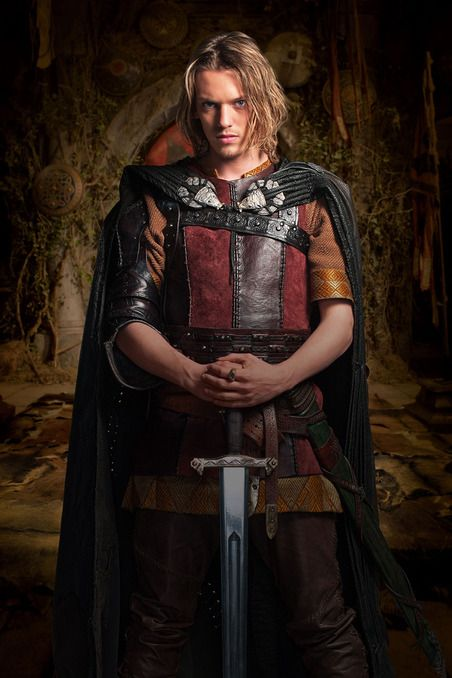 Jamie Campbell Bower  King Arthur in Camelot.. one of the best shows EVER