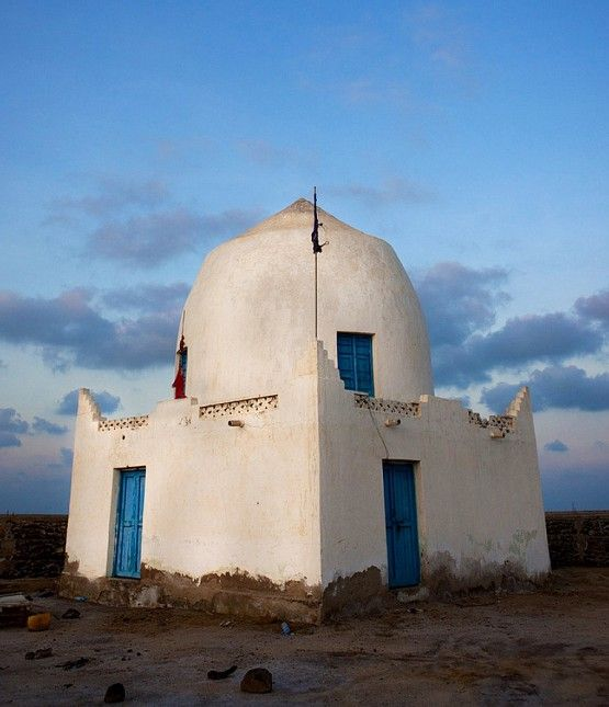 Mosque in Saylac, Somalia