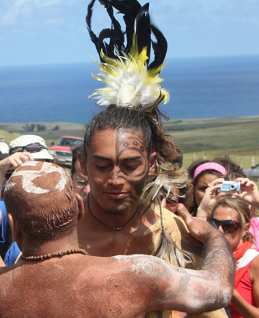 Haka Pei racers Easter Island [Rapanui] | Flickr - Photo Sharing!