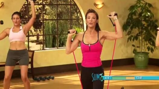 ▶ Debbie Siebers - New Slim in 6 - Start It Up (35 min) - still my good ole standy by- going to start back up tonight, I love Debbie Siebers, can you believe she is in her 50's??