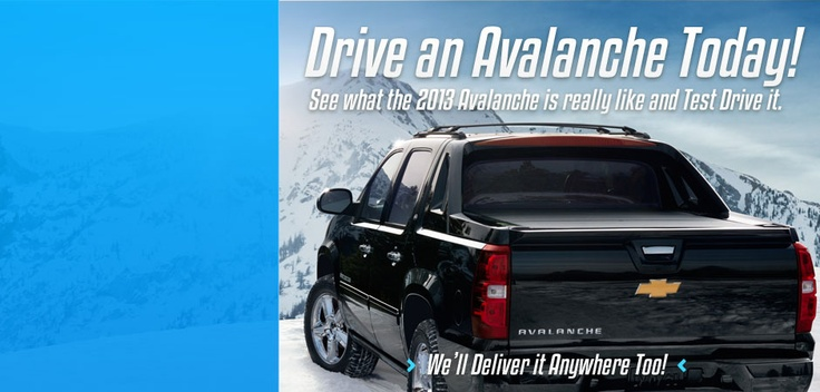 2013 Chevy Avalanche Brochure