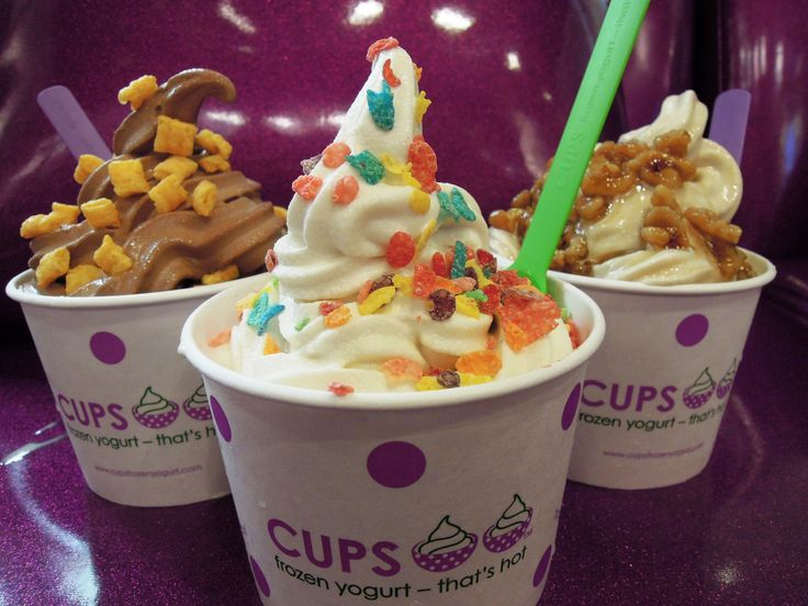 So craving fro yo right now!