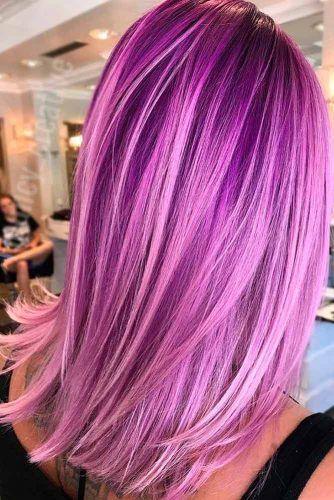 Amazing Light Purple Hair Color picture1