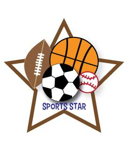 Free Sports Clipart just for you! Use our free sports clip art for team parties, crafts, on t-shirts, websites, etc!