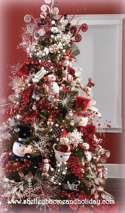 pinterest arboles de navidad decorados - Buscar con Google