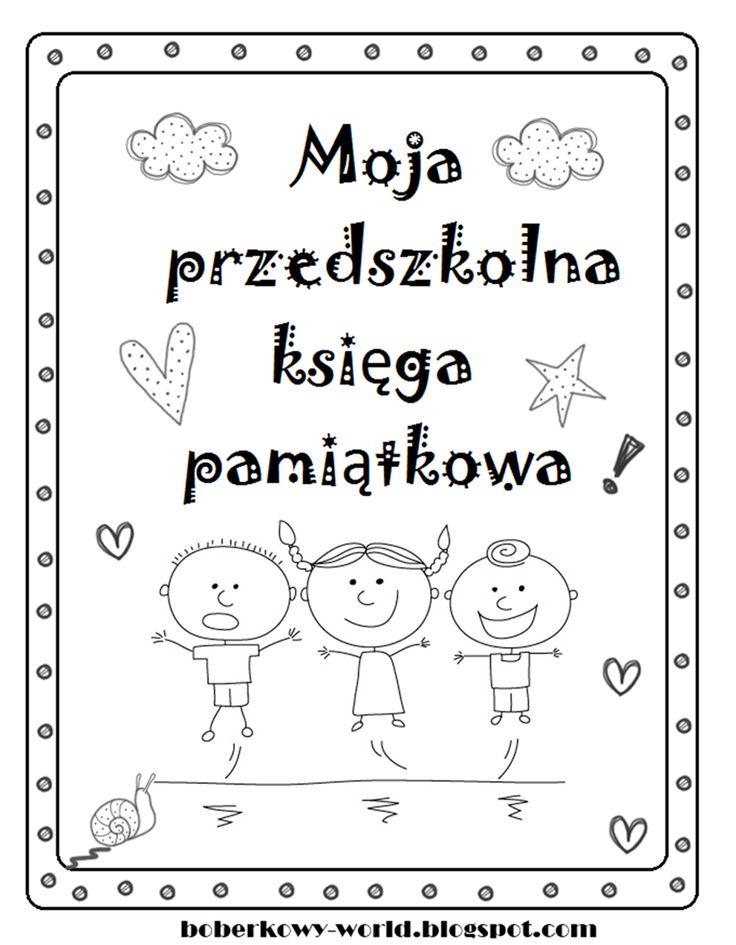 Boberkowy World : Przedszkolna księga pamiątkowa- prezent na zakończenie roku