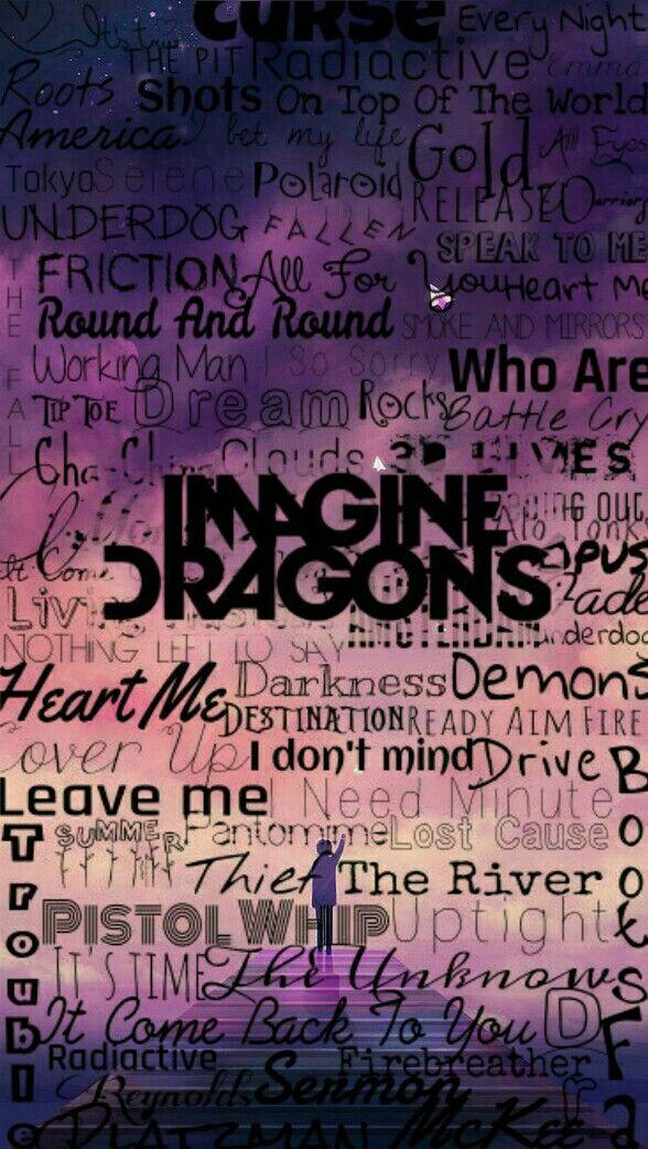 Imagine Dragons edición wallpaper background fondo de pantalla