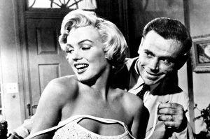 """""""Doufám, že posluchače zaujmeme trošku jiným pohledem na život známé americké herečk Marilyn Monroe, než jak bývá obvykle prezentovaný,"""" říká režisér Příběhů slavných Michal Bureš-Foto: Popular Library New York, Public Domain"""
