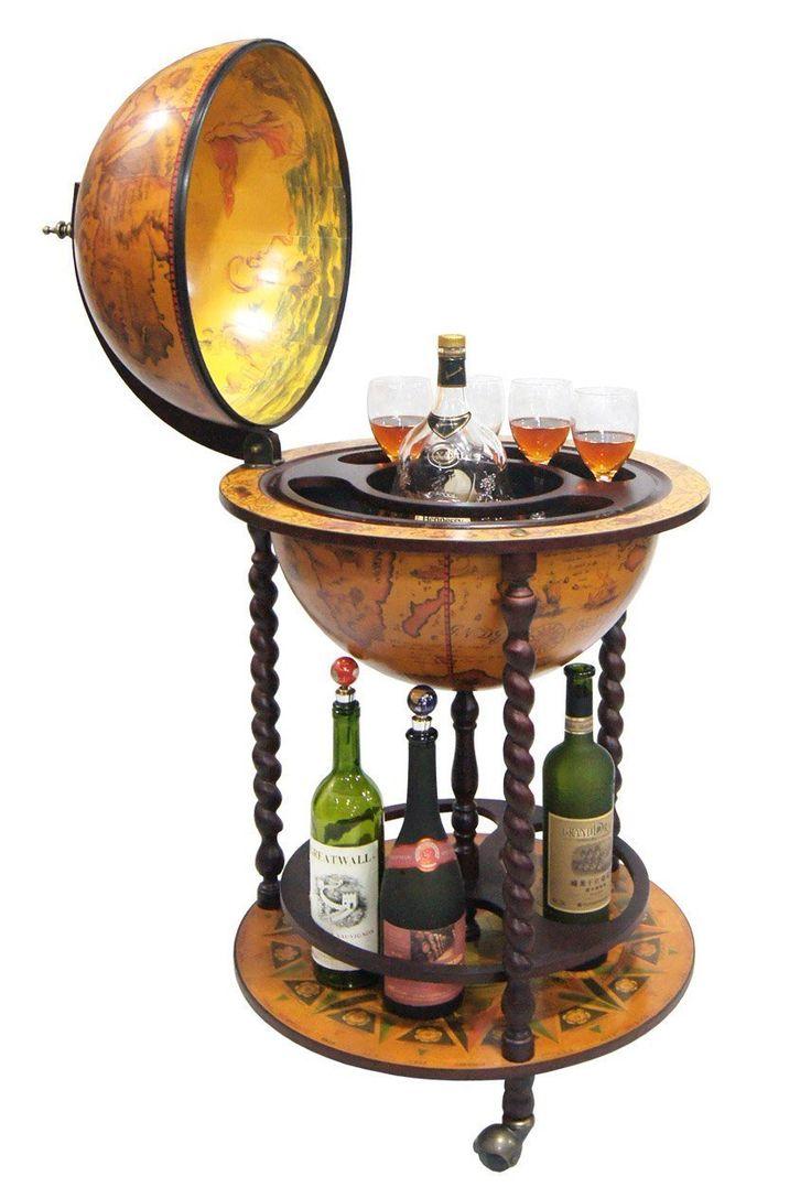 with illuminated lafayette world antique dura globe ocean stand floor floors replogle inch