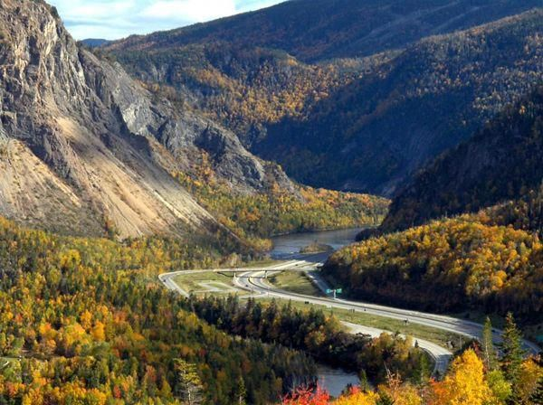 Humber Valley In The Fall Corner Brook Nl Newfoundland And Labrador Canadian Travel Landscape Photos