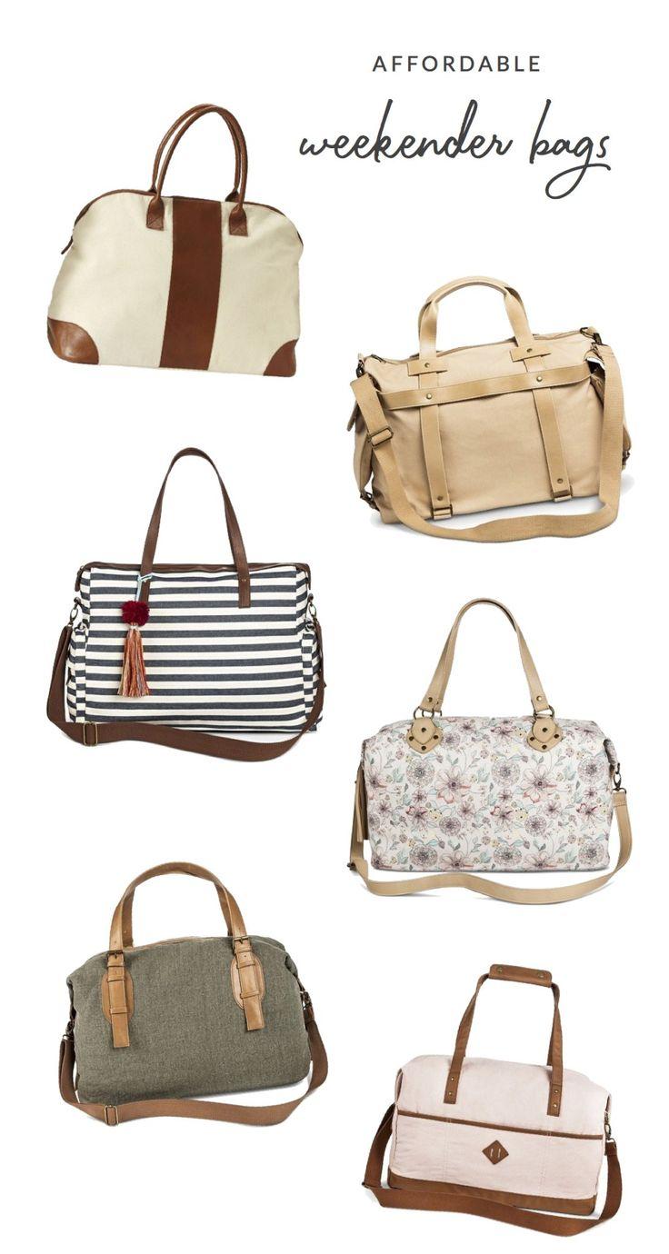 Affordable Weekender Bags - Kelly Zugay