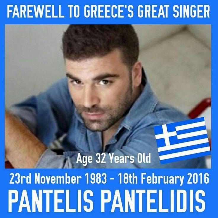 Pantelis Pantelidi - Aged 32