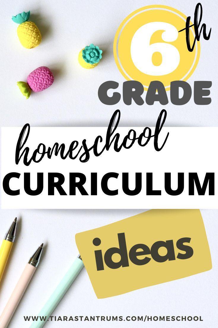 6th Grade Home School Curriculum Tiaras Tantrums Homeschool Curriculum School Curriculum Homeschool [ 1102 x 735 Pixel ]