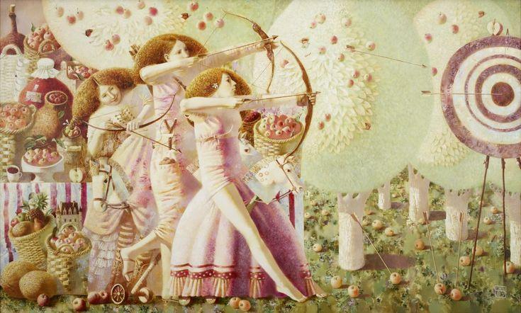 Anna Berezovskaya_Granddaughters of Robin Hood