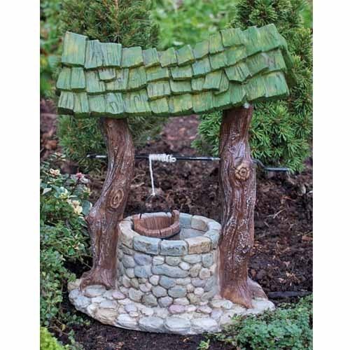 Fiddlehead Fairy Garden Village Wishing Well Georgetown Home & Garden | eBay