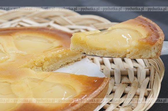 Tarta z jabłkamii kremem serowym