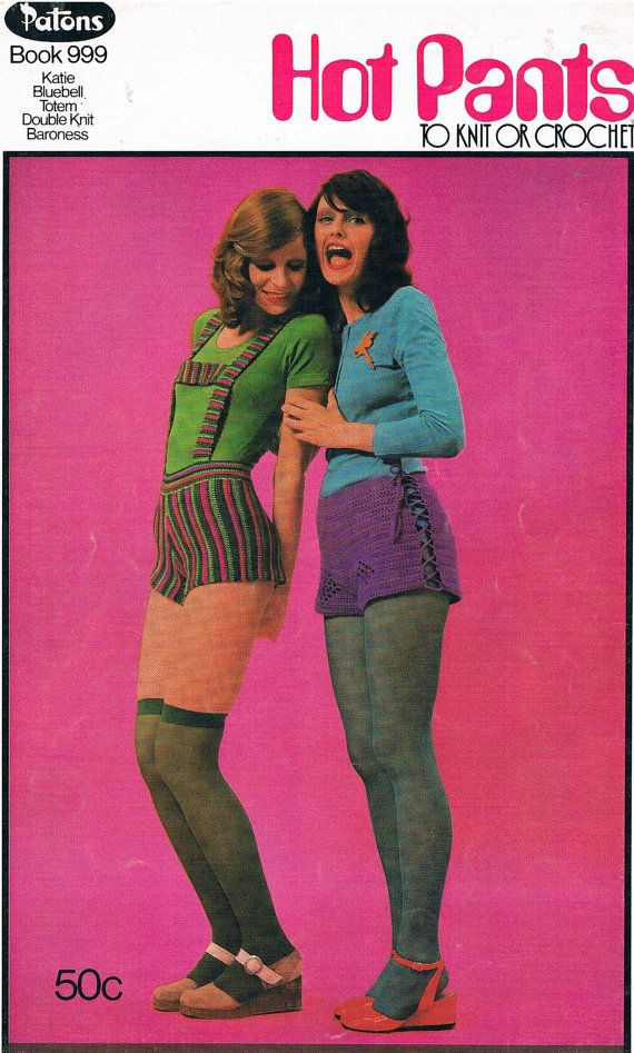Hot Pants To Knit Or Crochet by Patons by SparrowFinds on Etsy, $10.00. @Betty Jackson -this is what I need! Some crocheted hot pants! Hahaha!