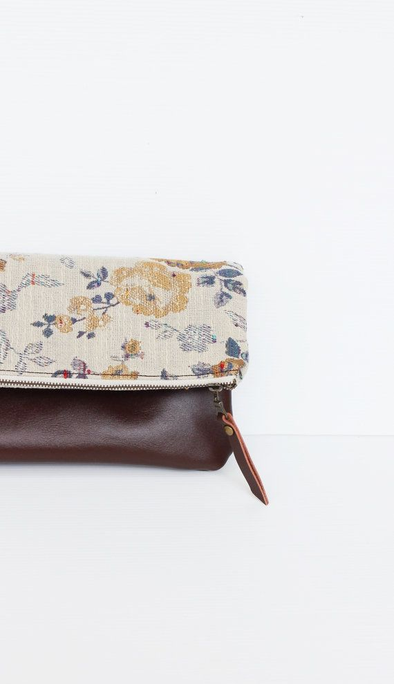 Leather Zip Around Wallet - Cascade by VIDA VIDA JRGYUXD