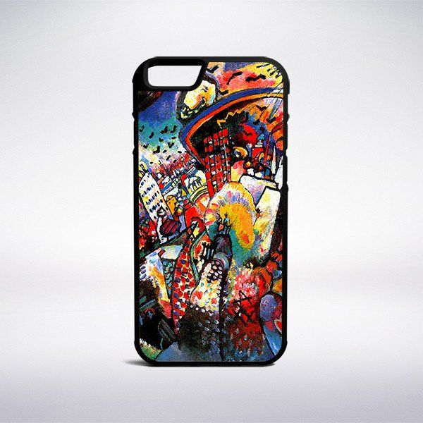 Wassily Kandinsky - Moscow, Red Square Phone Case – Muse Phone Cases