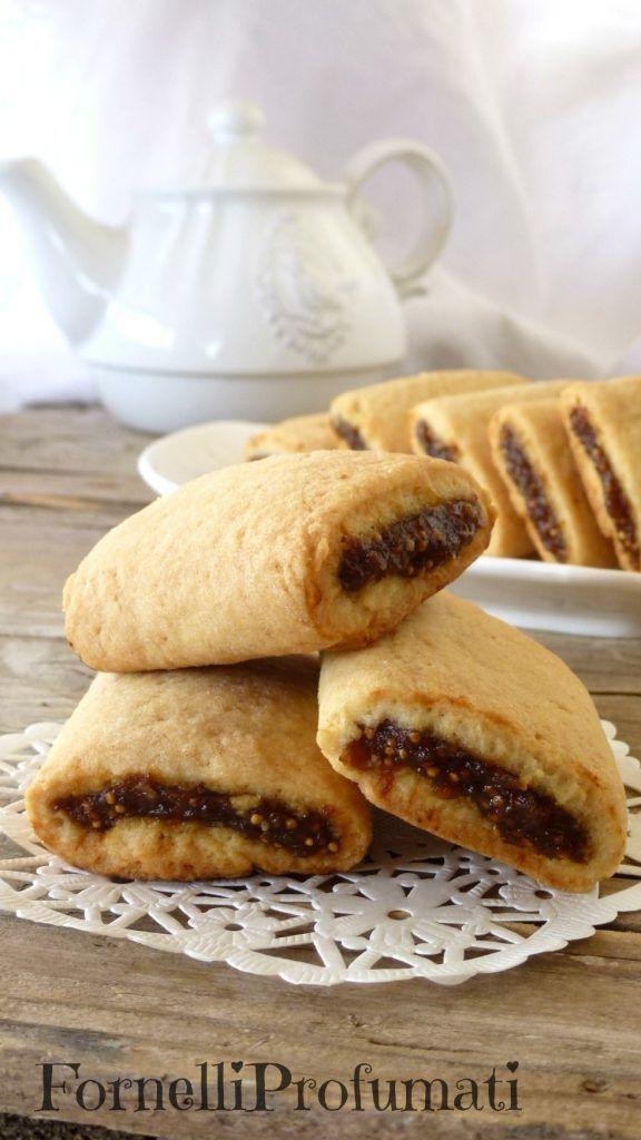 Biscotti ripieni di fichi secchi di Therese
