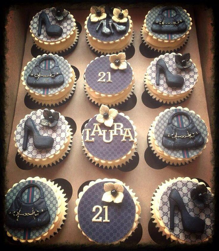 Fashion Designer Cupcake Toppers