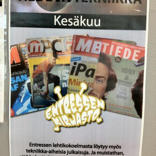 Kesäkuun 2012 lehtiteema.