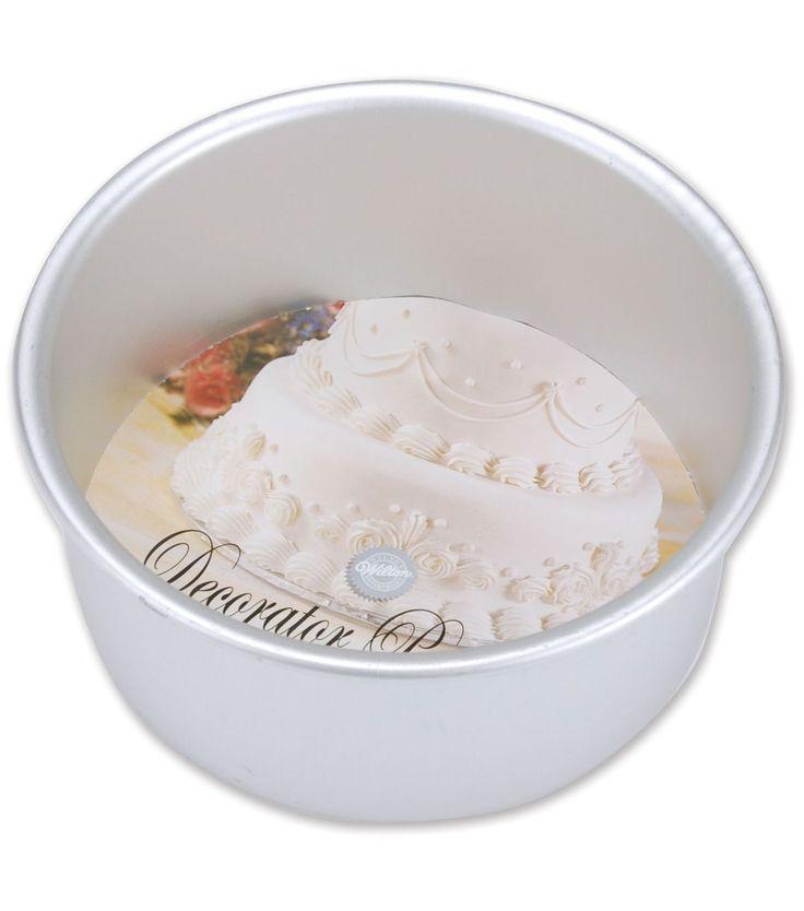 "Wilton Decorator Preferred Cake Pan-6""X3"" Round"