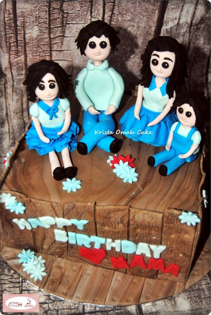 KRISTA MOCAF KITCHEN: Family Birthday Cake