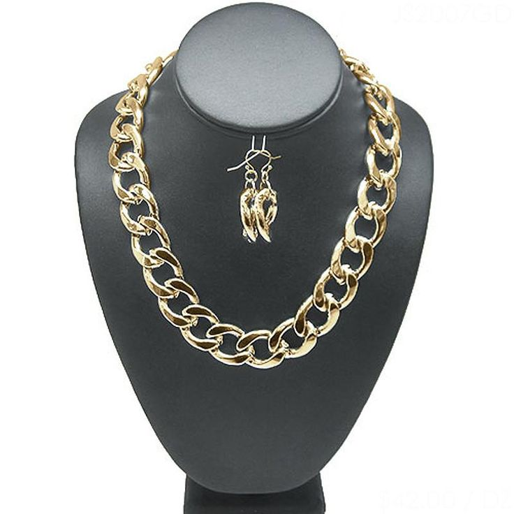 Basic Chunky Chain Necklace