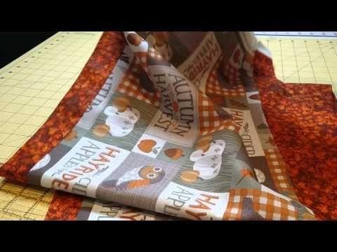 Quilt diy table and runners on pinterest for 10 minute table runner with batting
