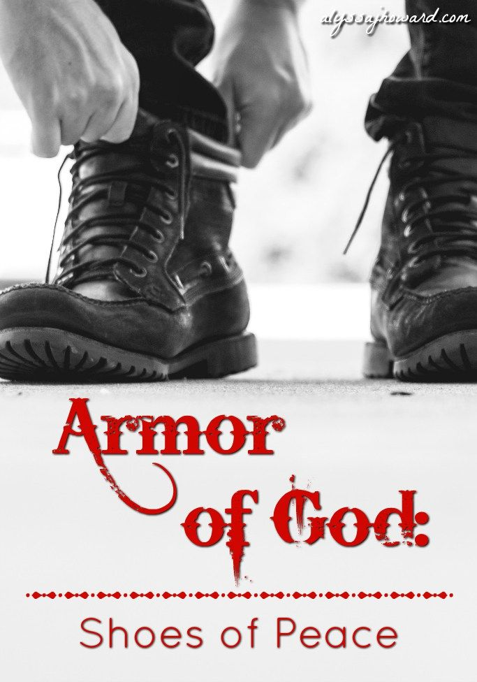 """When it comes to armor in general, the term """"peace"""" doesn't usually spring to mind. After all, armor is generally worn during times of war – not times of peace. So why would Paul tell us to wear peace when facing the enemy in warfare?"""