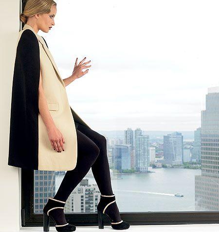 how to make a cape blazer