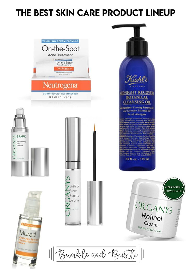 My best skin care routine product lineup by bumble and