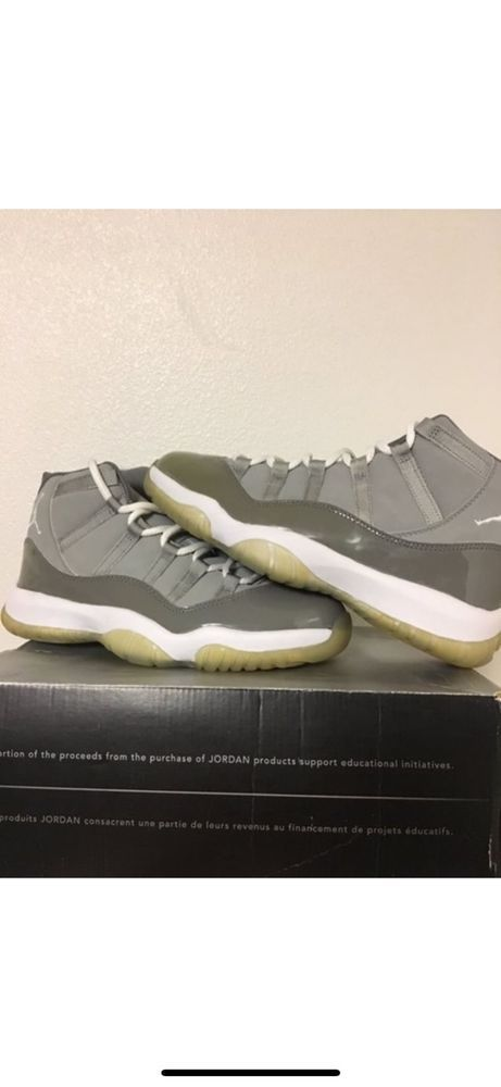 6dfc14a50aa726 Nike Air Jordan 11 Cool Grey (Size 9)  fashion  clothing  shoes  accessories   mensshoes  athleticshoes (ebay link)