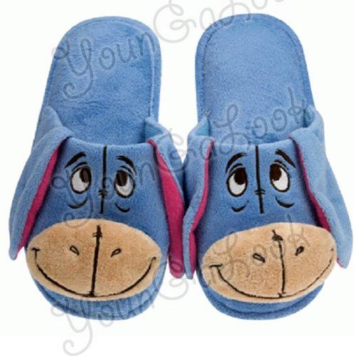 Disney Eeyore Plush Bedroom Slippers