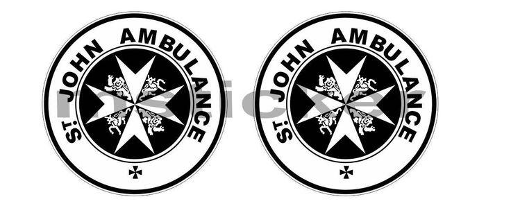 2x Dr Who St John Ambulance Sticker Aufkleber Autocollant Pegatinas digital Print Car Bike Racing Tuning  Tardis JDM Notebook by Artgraphixx on Etsy