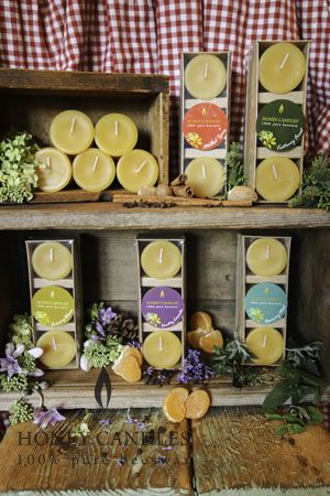 1000+ images about Beeswax candles scented with Essential Oils on ...
