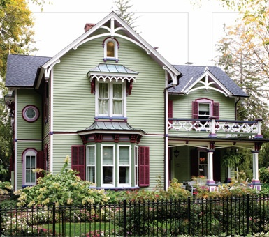 http://1.bp.blogspot.com/-oGwOaiDnzYU/TbUDLUTvn-I/AAAAAAAAOHc/RV8M4dSkdKI/s1600/VICTORIAN-HOME_MODERN-DESIGN_INTERIORS_1.jpg: Colors Combos, Dreams, Picket Fence, Victorian Home,  Pale, Paintings Lady, Colors Interiors, Victorian Houses, Victorian Style
